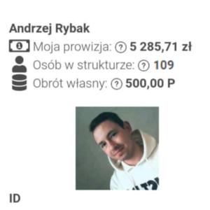 Andrzej Rybak Zarobek Ekspert Życia