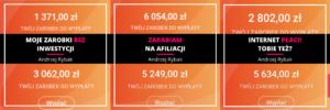 Andrzej Rybak Zarobki z Internetu